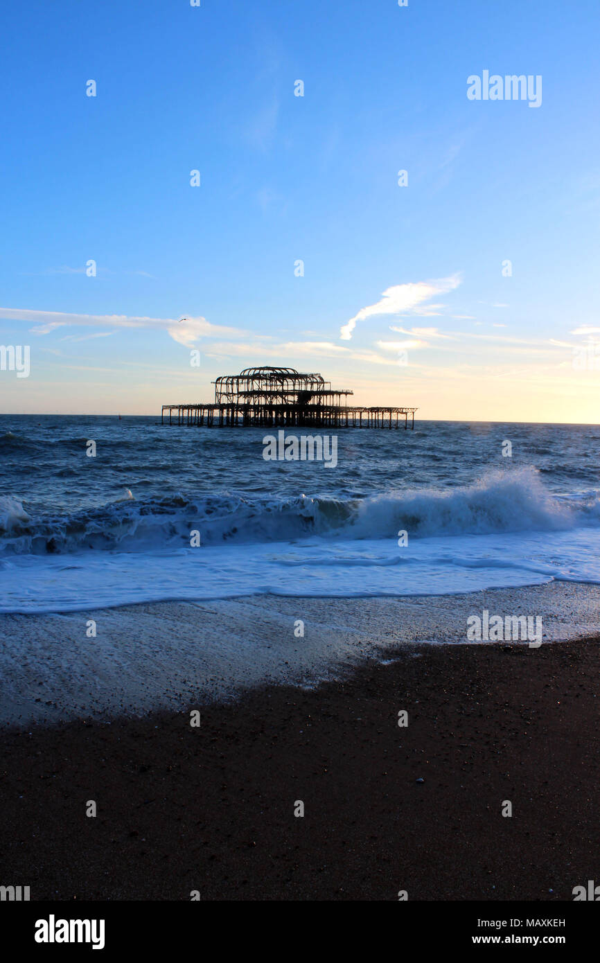 West Pier, Brighton - Stock Image