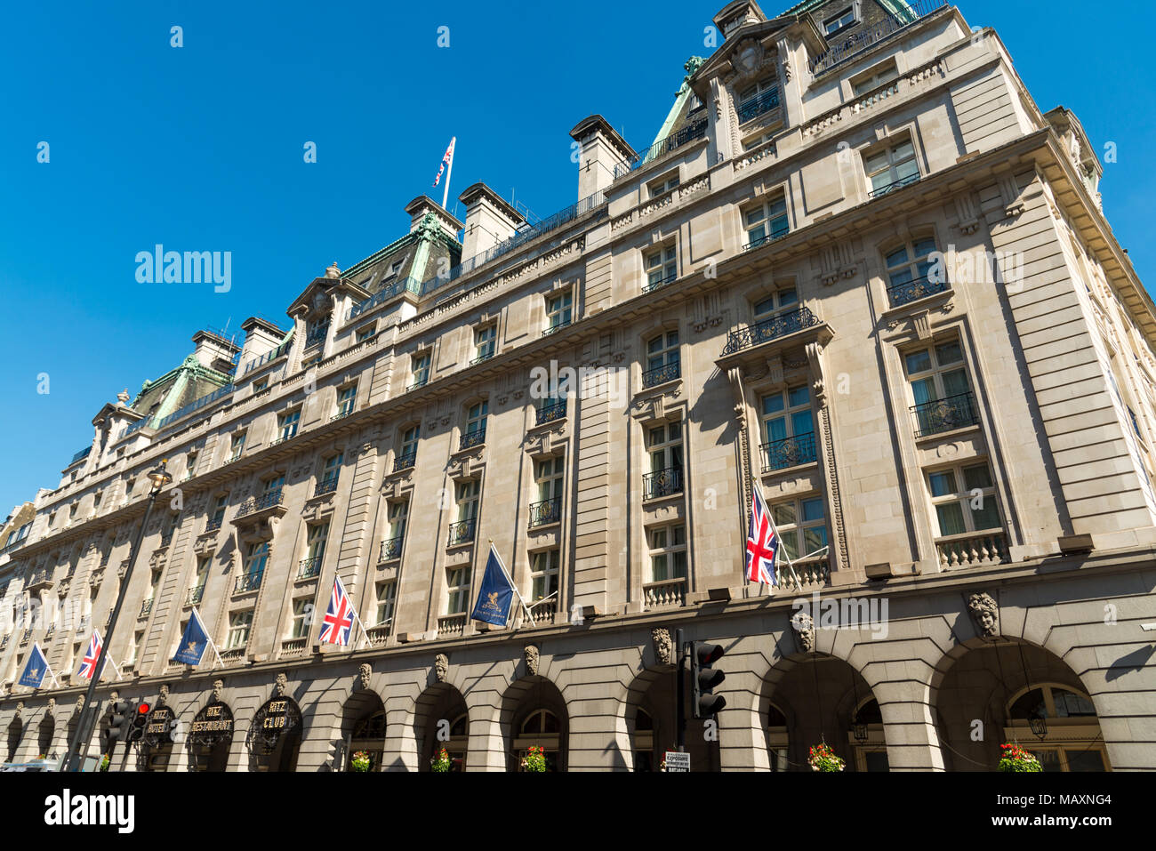 The Ritz, Piccadilly, London, UK - Stock Image