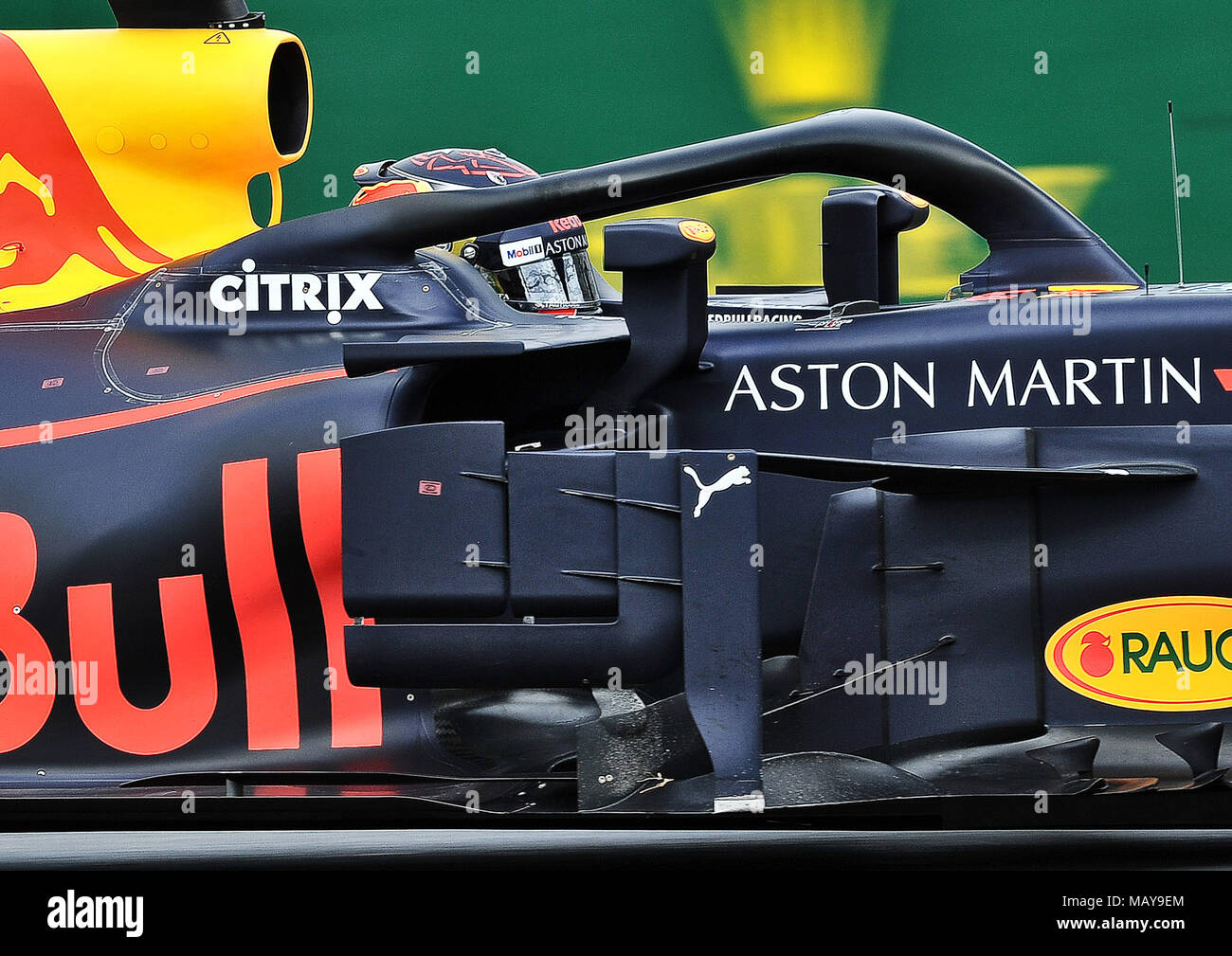 Max Verstappen Of Aston Martin Red Bull Racing Day 3 Of The 2018 Formula 1 Rolex Australian Grand Prix Held At The Circuit Of Albert Park Melbourne Victoria On The 24th March