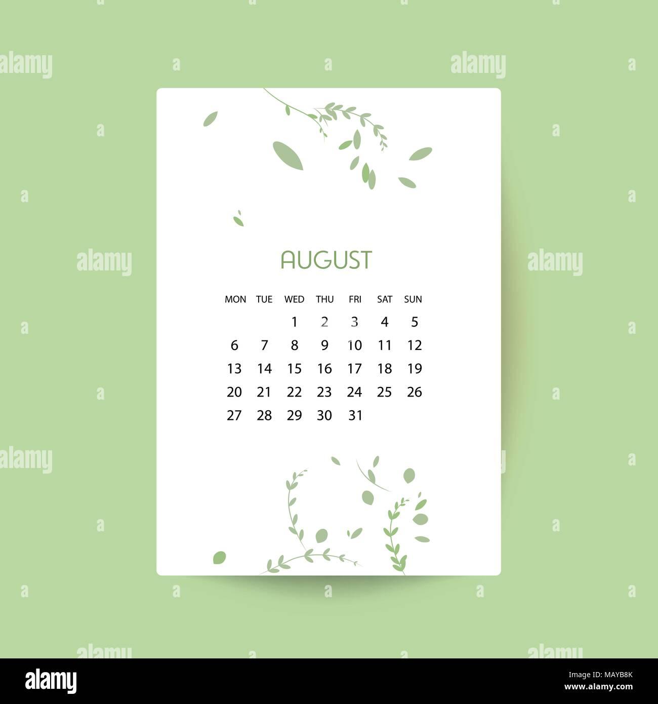 design floral template calendar 2018 print template calendar with