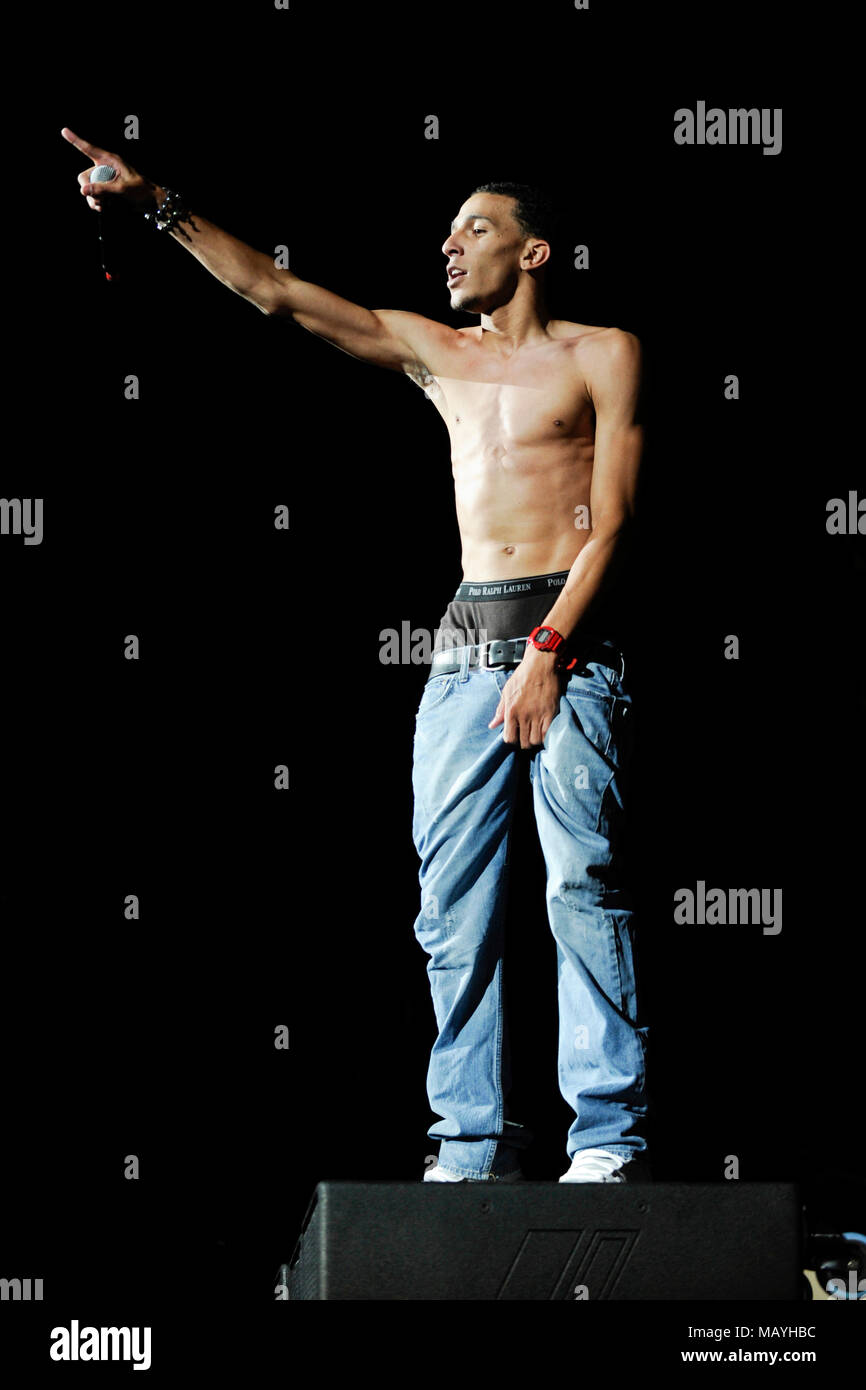khleo thomas performs at the summer explosion at la sports arena on