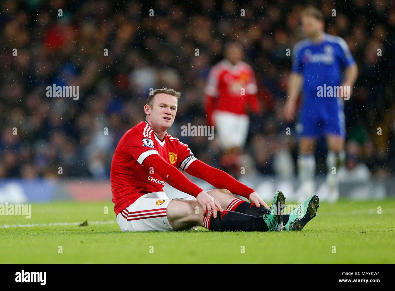 288466e035a Manchester United captain Wayne Rooney could be missing for up to two  months with a knee