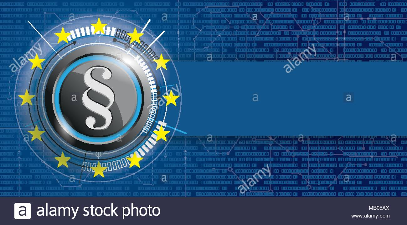Button With Paragraph Circuit Diagram Bits And Eu Flag Eps 10 Vector File