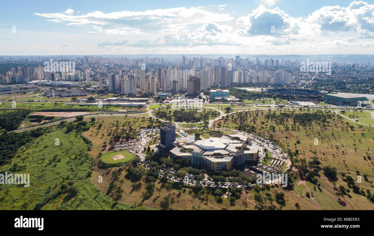 Goiania, Aerial View, Goias, Brasil - Stock Image