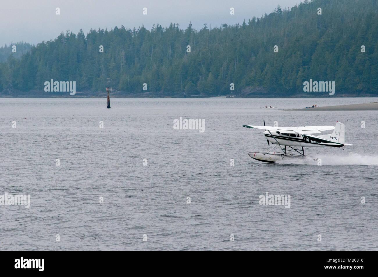 Sea Planes Landing Vancouver Island