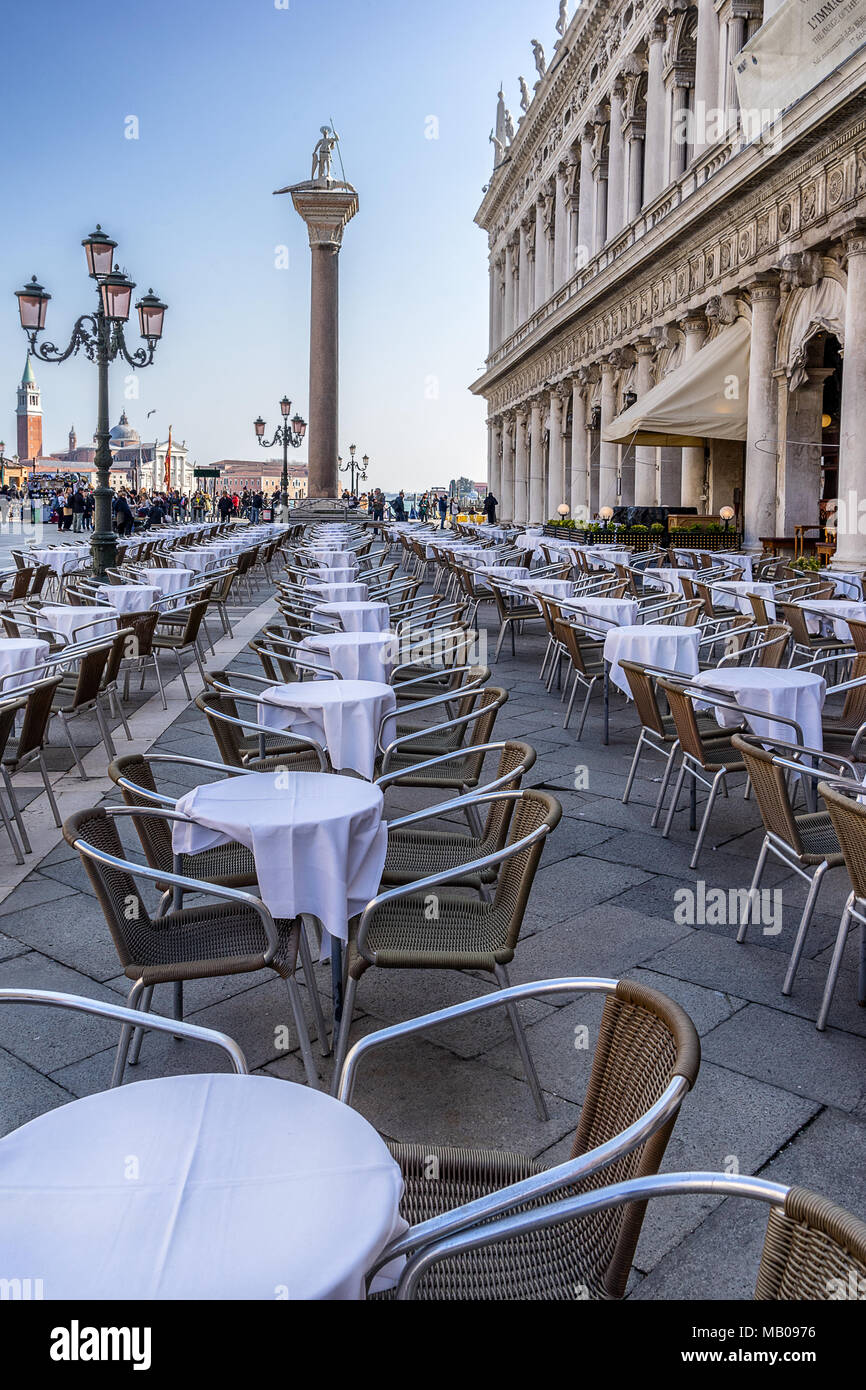 Piazza San Marco in Venice - Stock Image