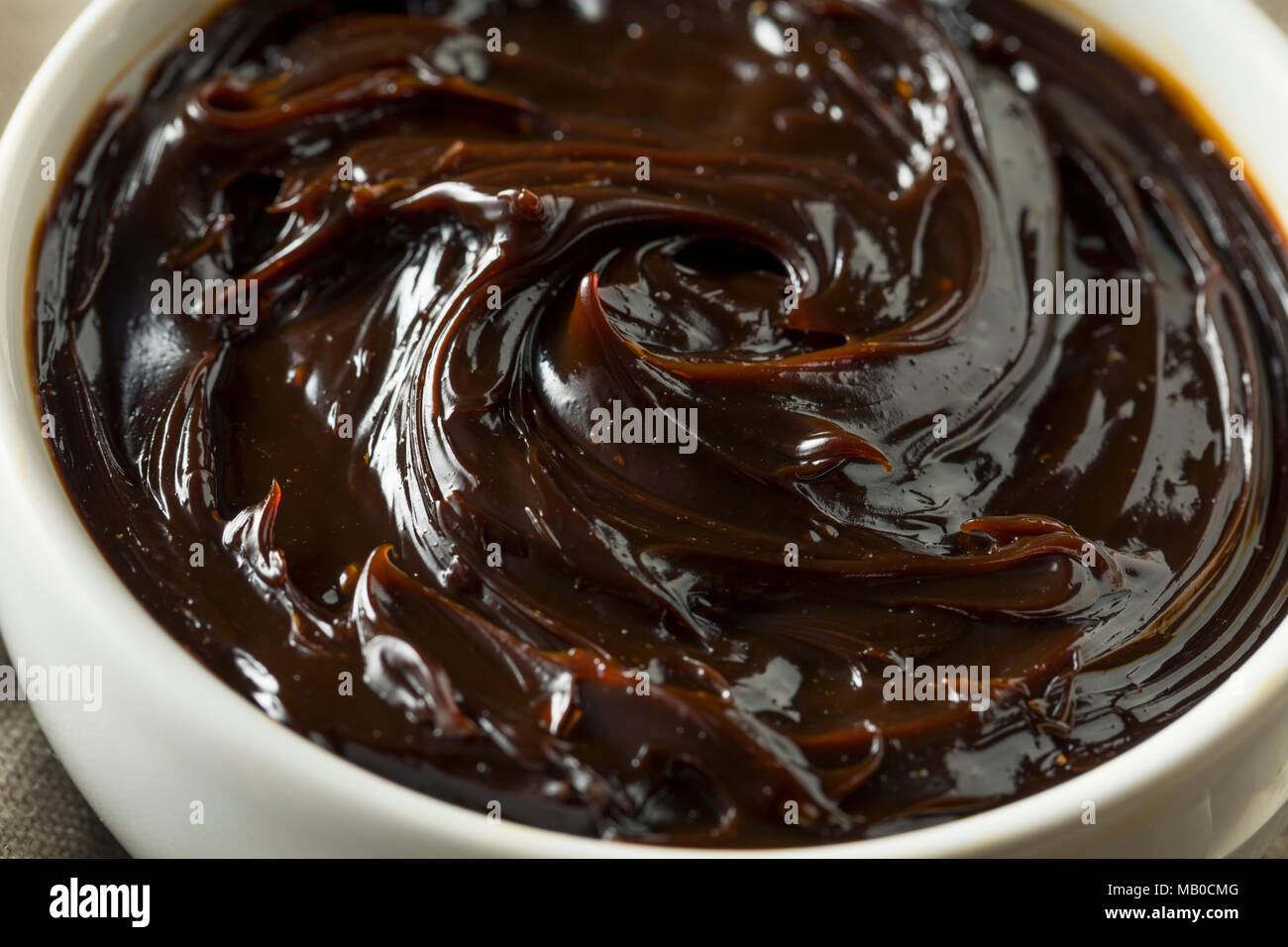 Delicious Australian Dark Yeast Extract Spread for Toast - Stock Image