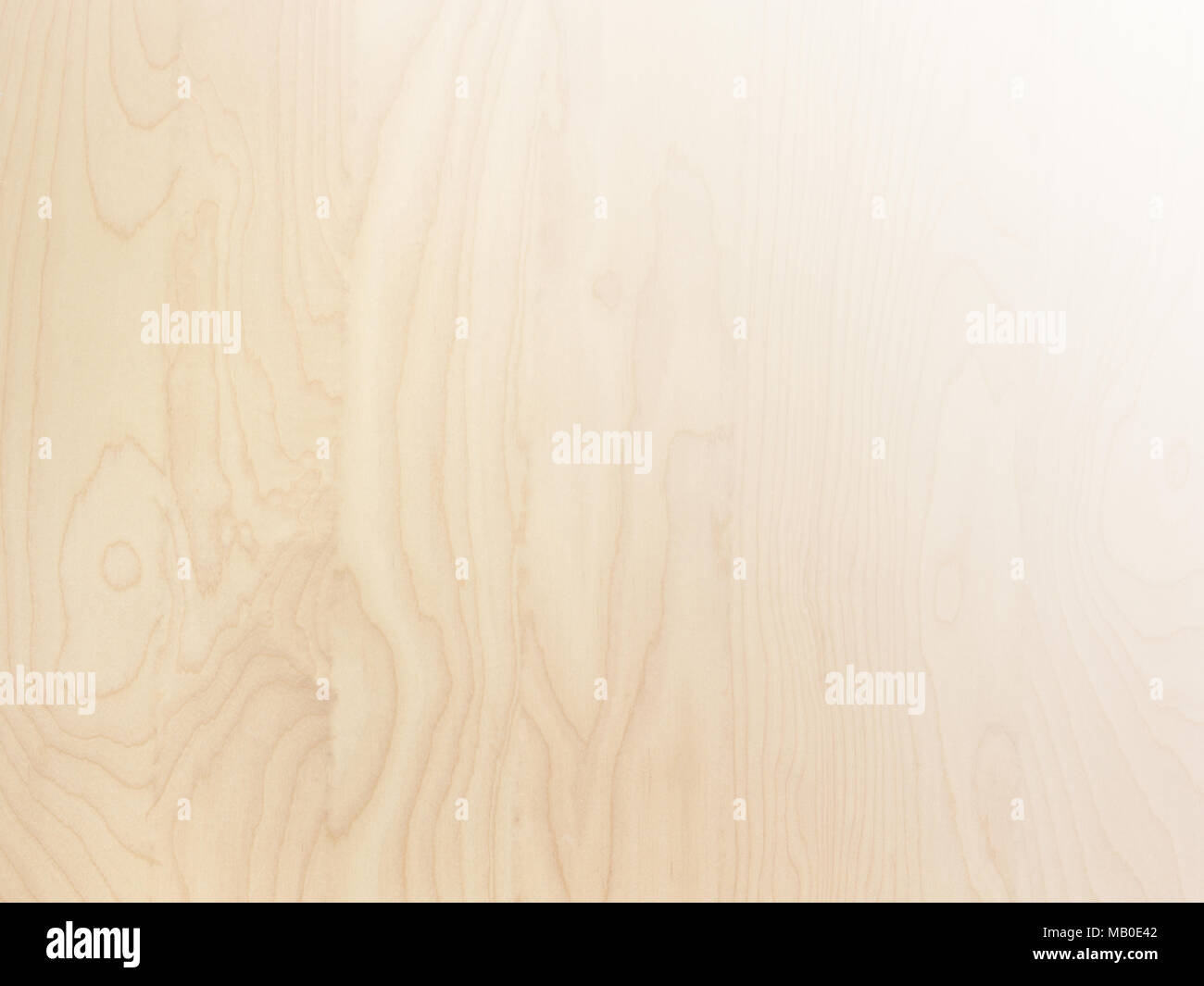 subtle light brown tan smooth birch wood grain abstract background surface with gradient