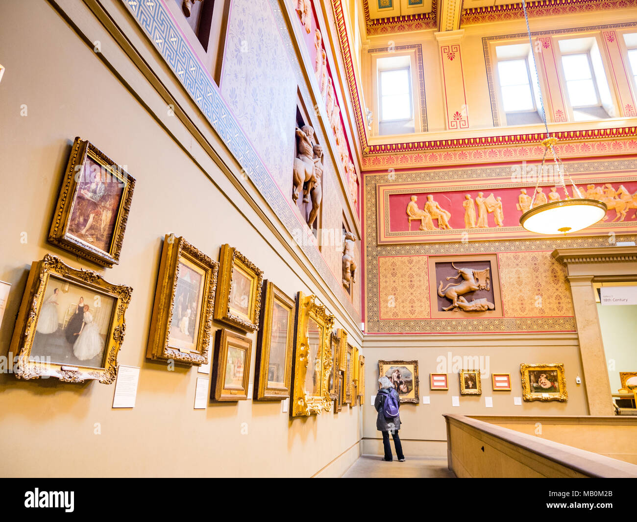 Manchester Art Gallery, UK - Stock Image