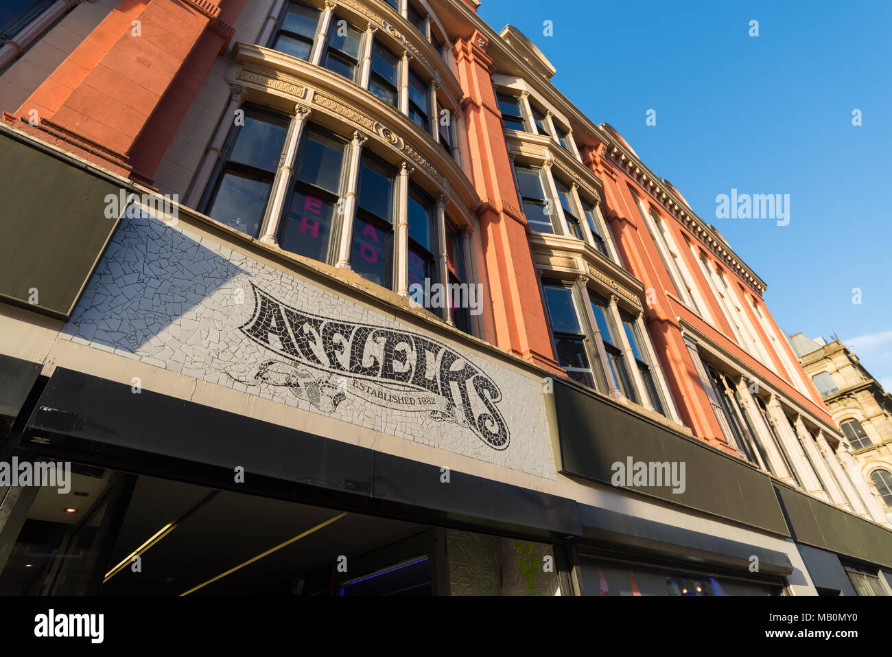 Afflecks, Oldham Street, Northern Quarter, Manchester, UK - Stock Image
