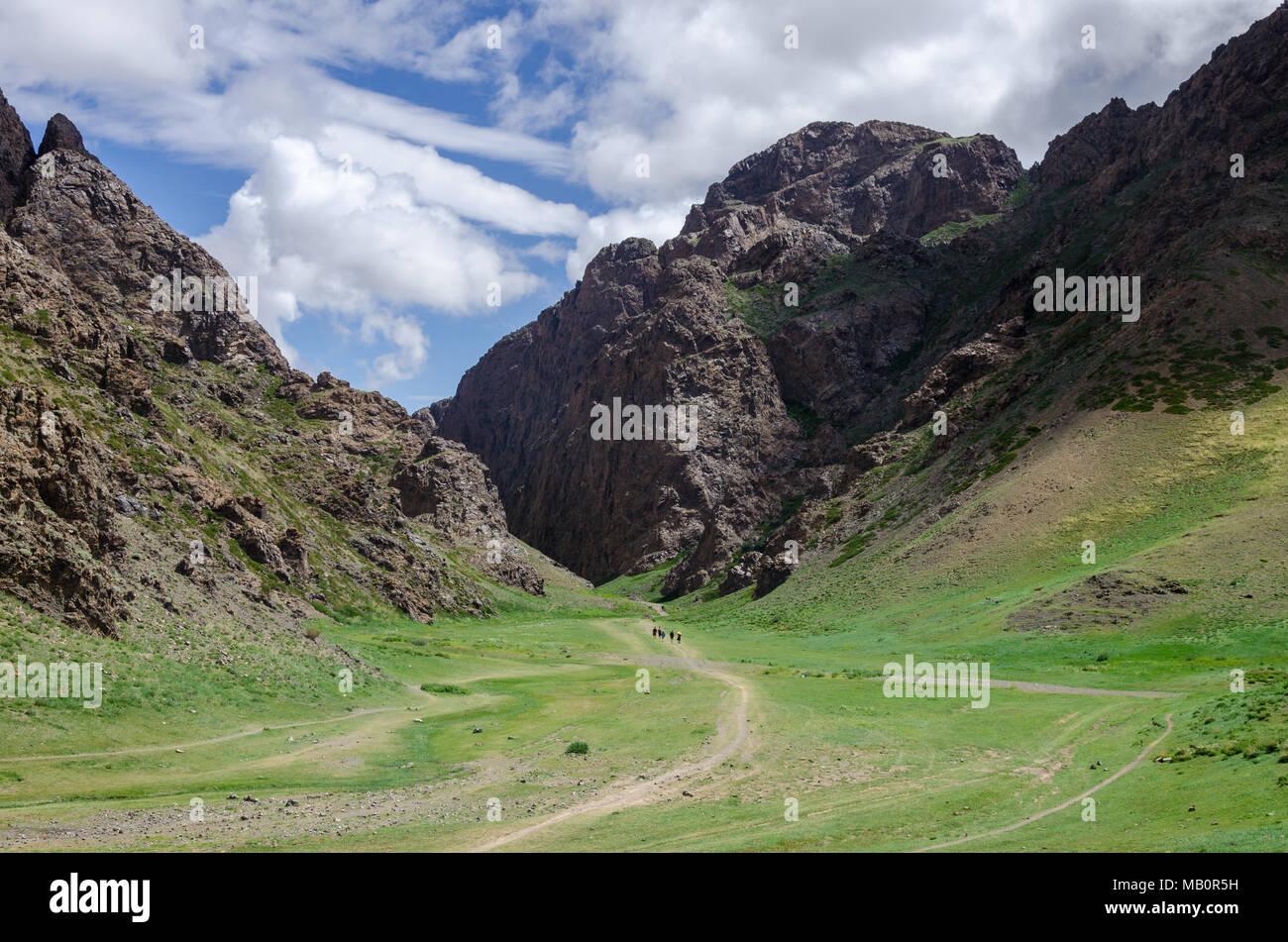 Yolym Valley, Gobi Desert, Mongolia - Stock Image