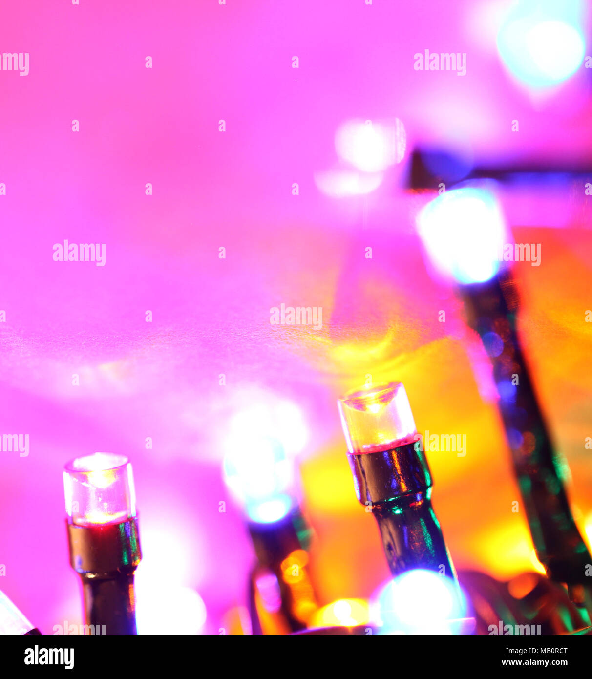 Photo178883288 Led Bulbs Alamy Of Blinking Stock Close Up 3R5jL4A