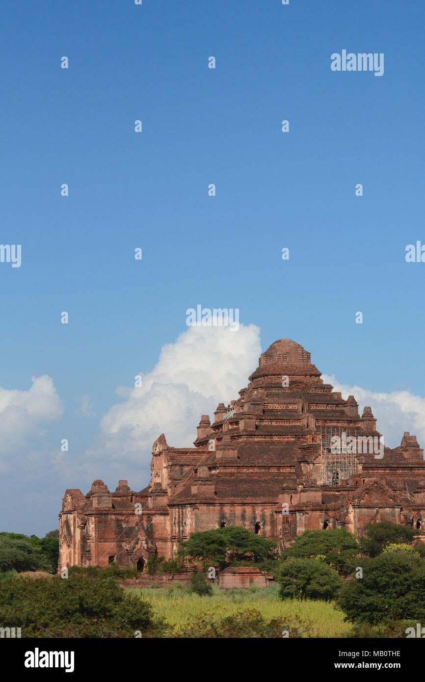 Dhammayangyi temple. Bagan. Mandalay region. Myanmar - Stock Image