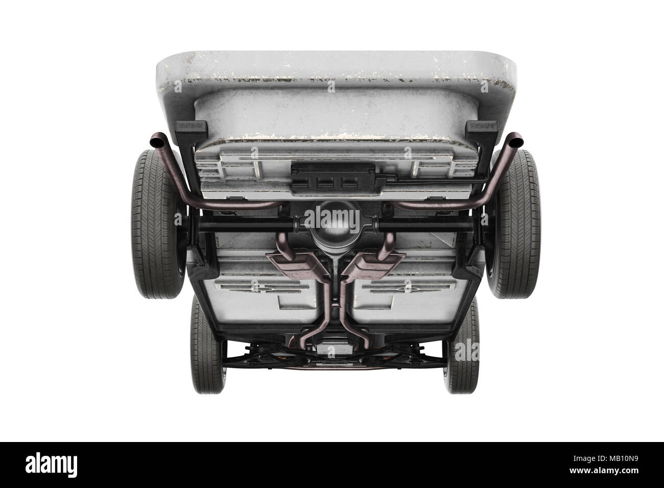 Chassis frame dirt wheel Stock Photo: 178887445 - Alamy