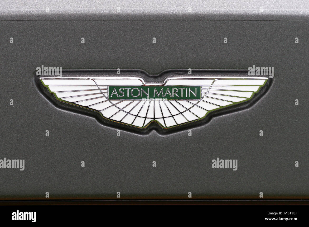 Aston Martin Symbols Stock Photos Aston Martin Symbols Stock