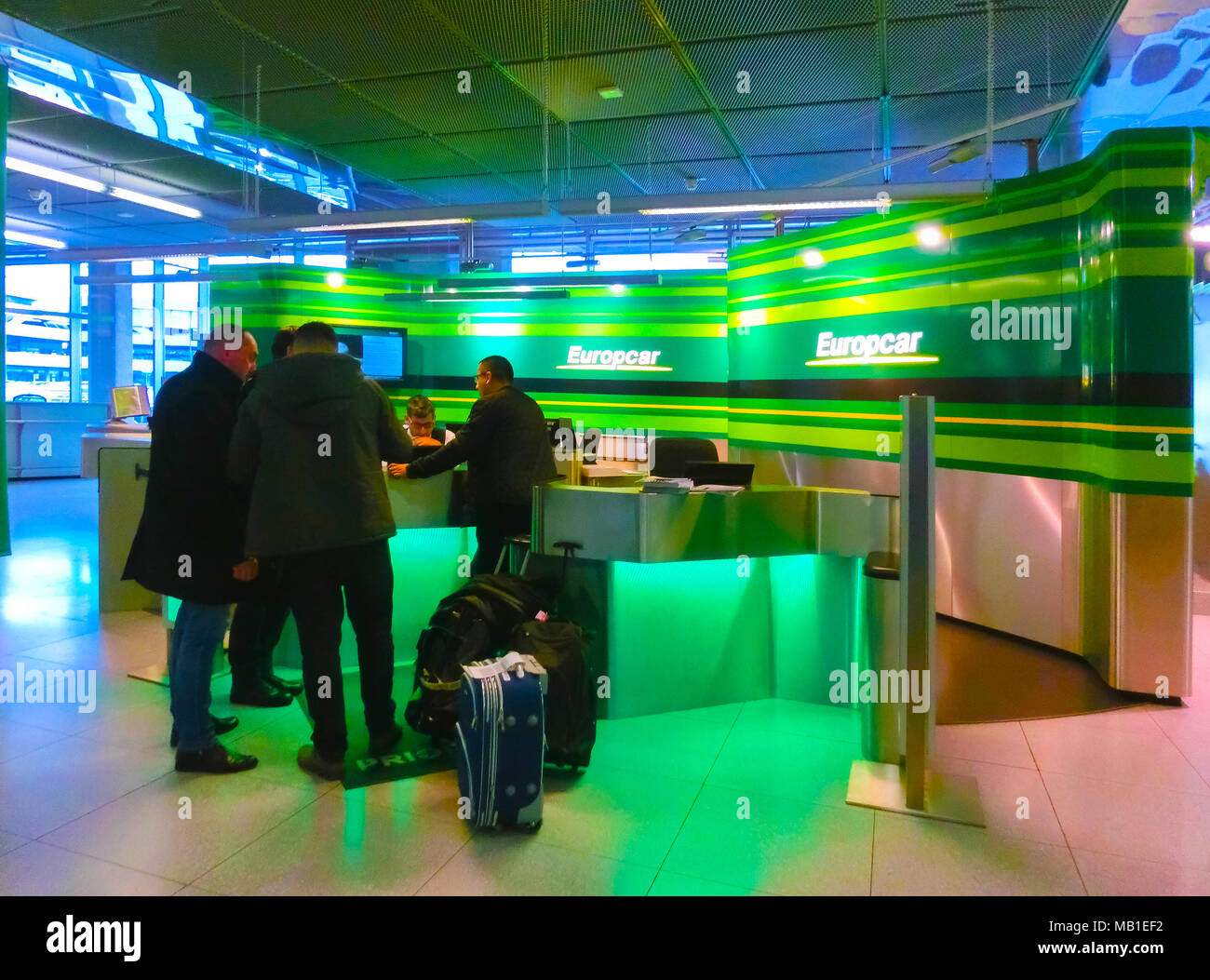 Airport Car Rental Desk Stock Photos Airport Car Rental Desk Stock