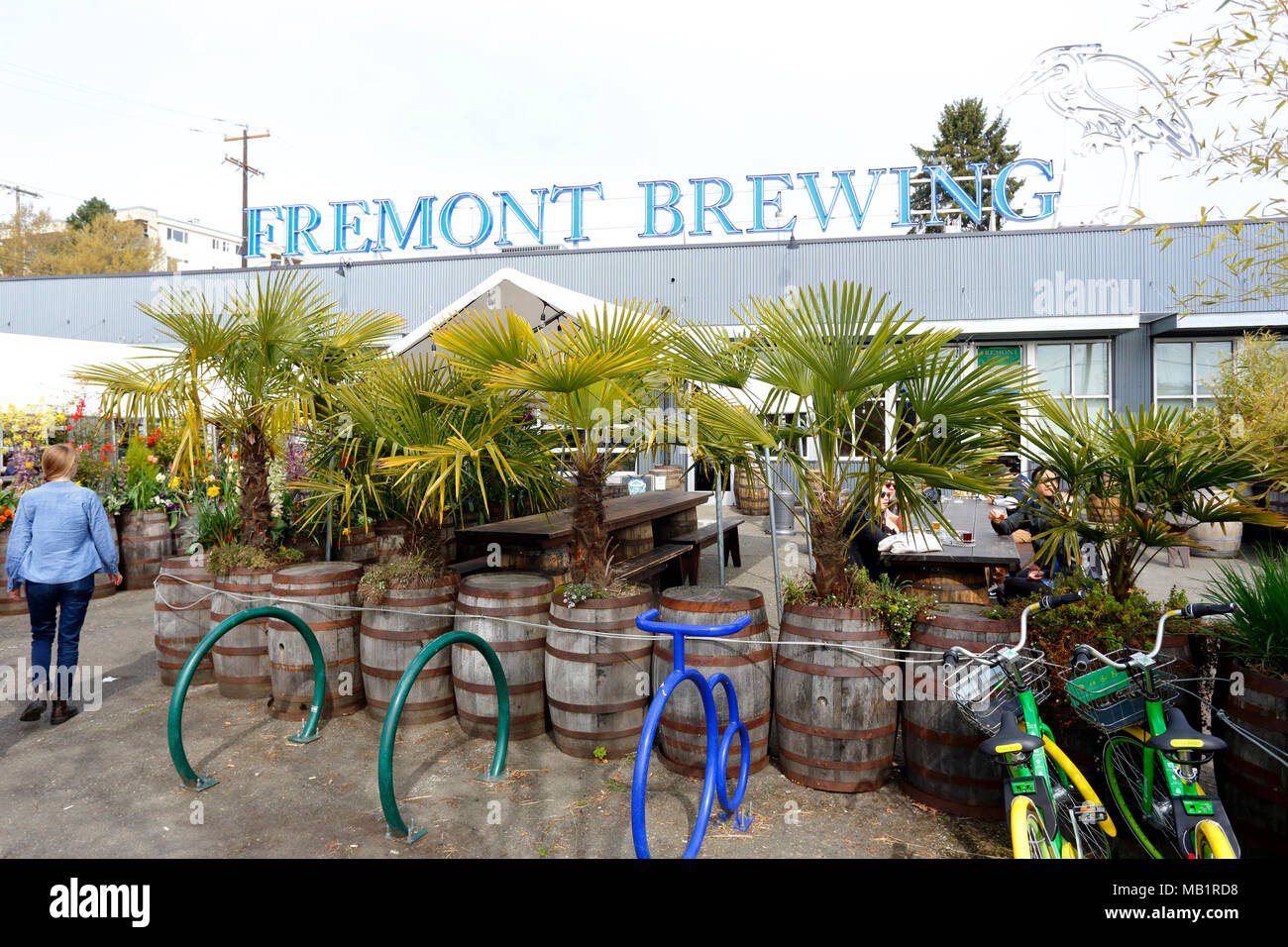 Fremont Brewing 1050 N 34th St Seattle Wa Stock Photo 178905252