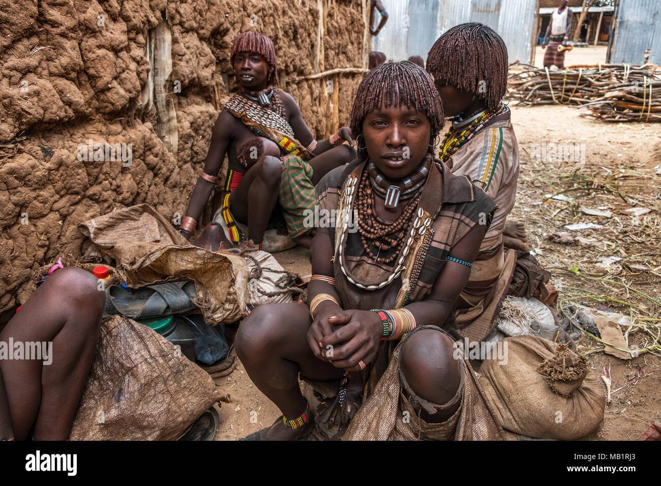 Ethiopia People Talking Stock Photos & Ethiopia People