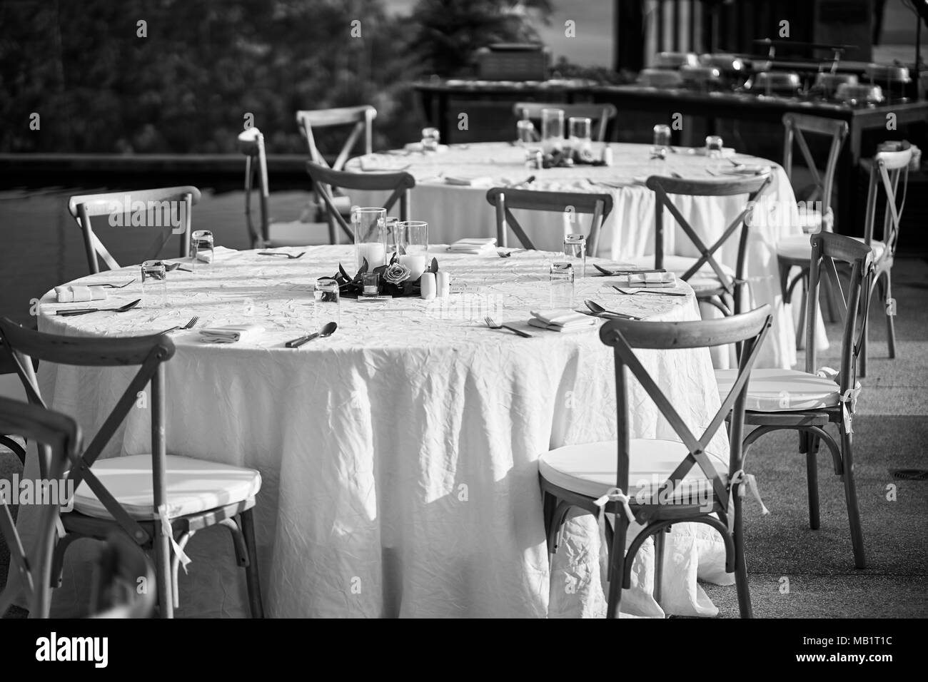 Remarkable The Black And White Of Wedding Reception Dinner Table Setup Inzonedesignstudio Interior Chair Design Inzonedesignstudiocom