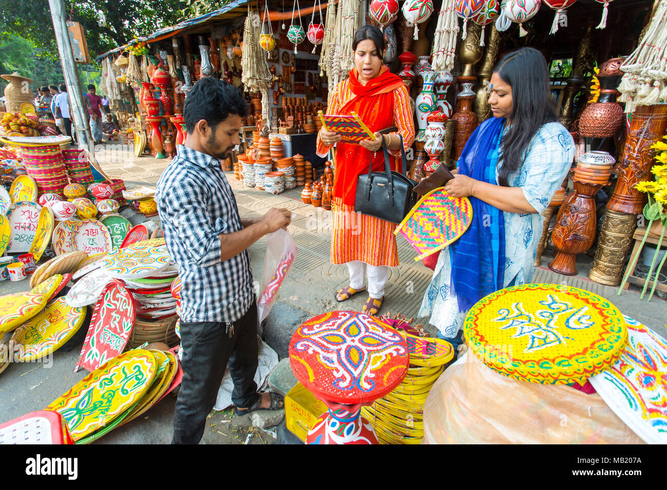 Dhaka, Bangladesh  5th Apr, 2018  Dhaka University Fine Arts
