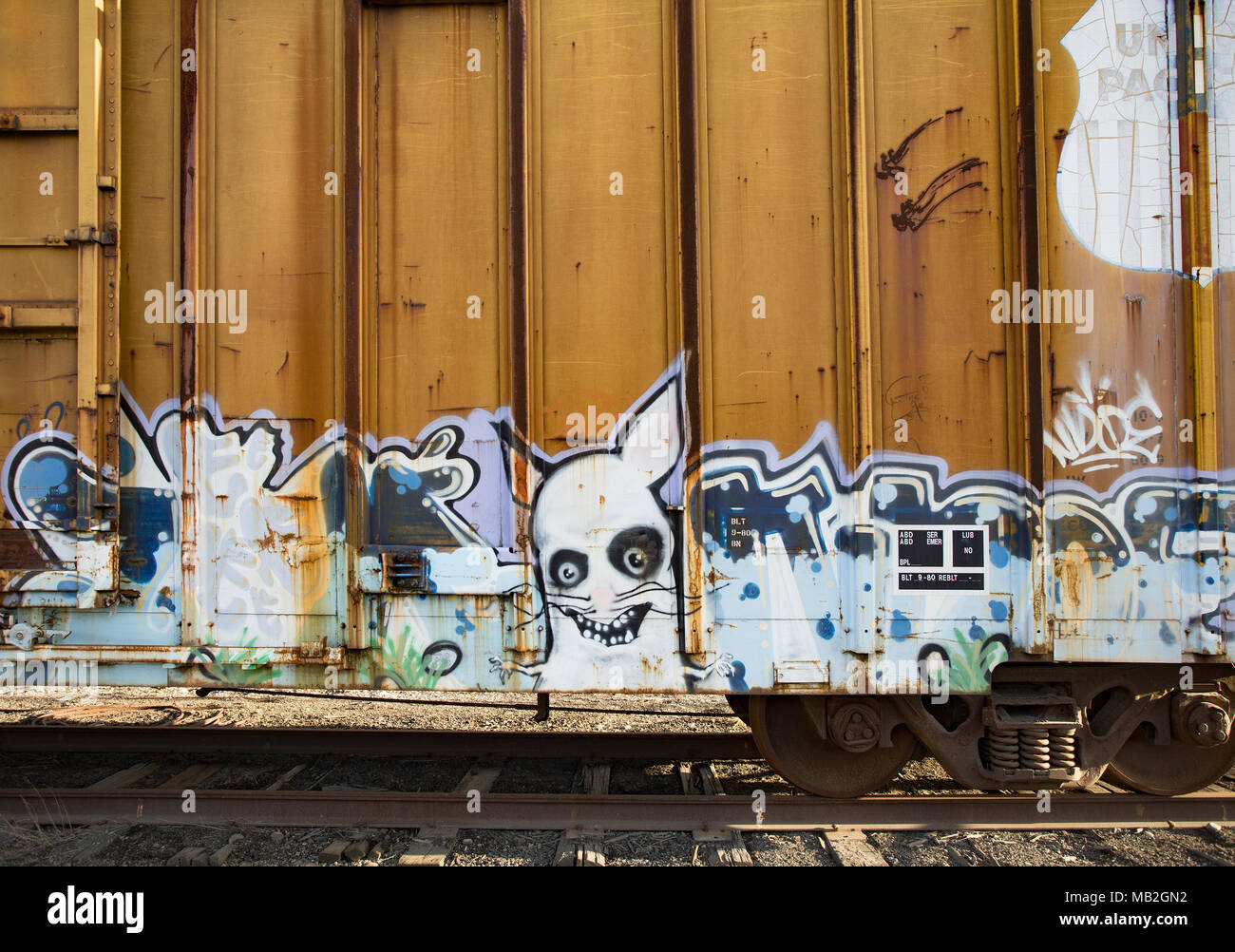 Graffiti rabbit stock photos graffiti rabbit stock images