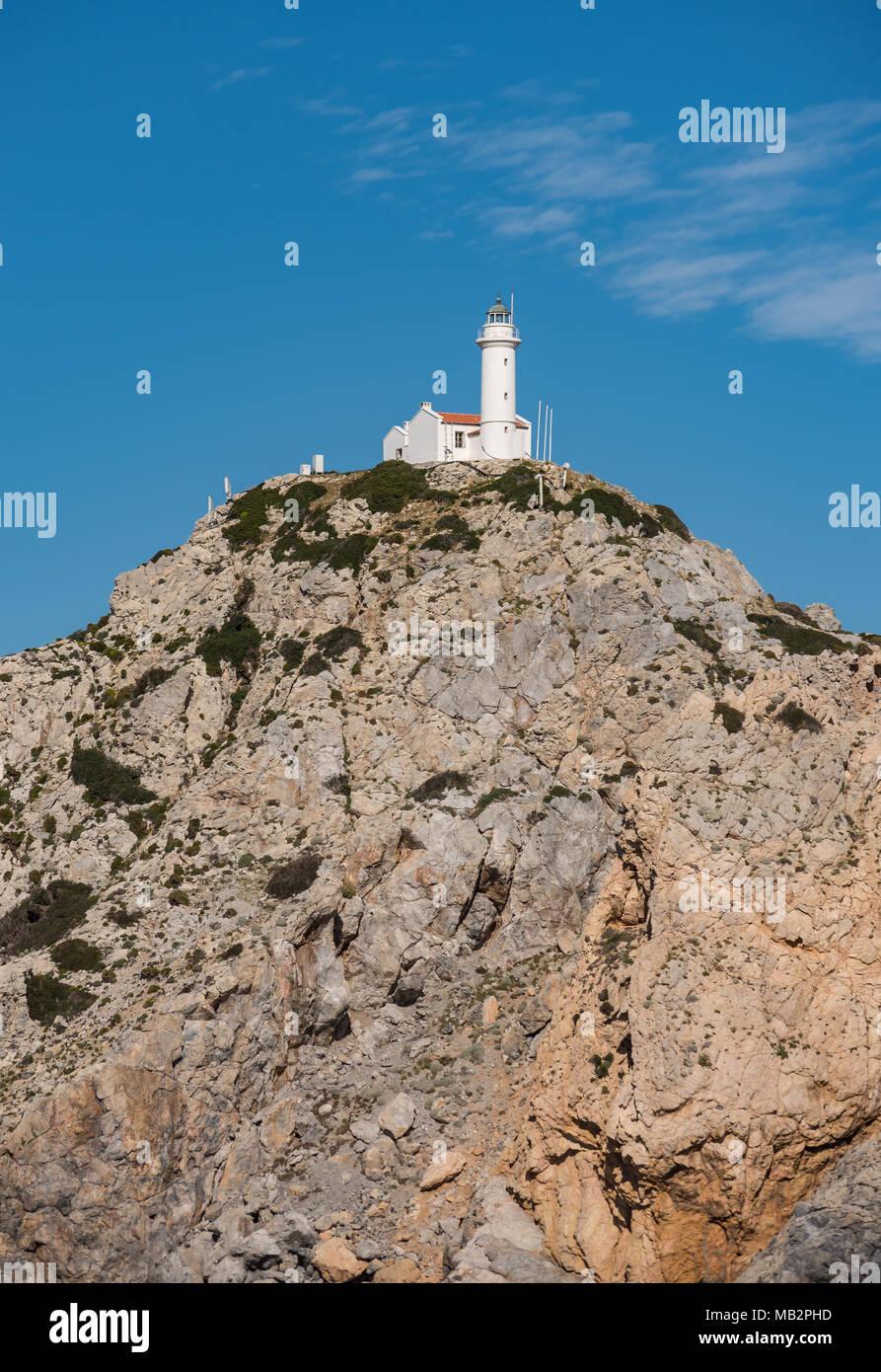 Lighthouse of Symi - Stock Image