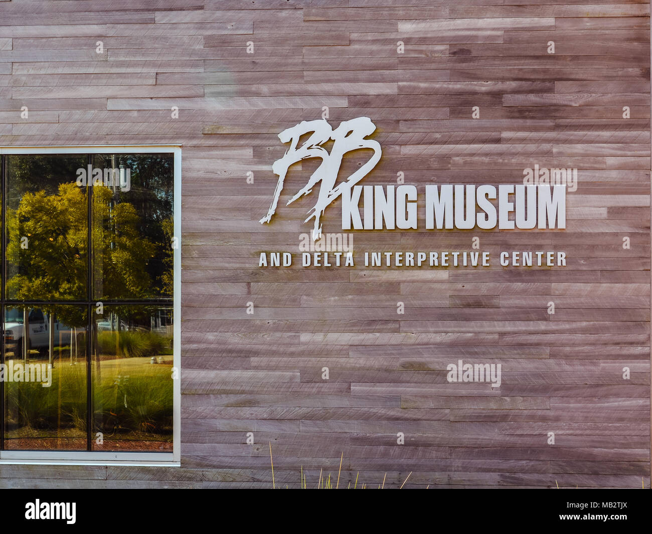 Indianola, MS - Sep. 22, 2017: B.B. King Museum and Delta Interpretive Center. - Stock Image