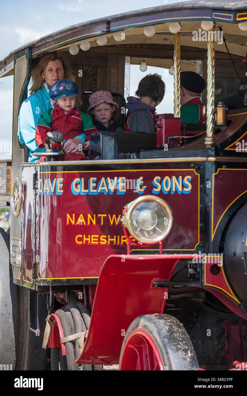 Kelsall Steam Fair 2013, Cheshire. - Stock Image