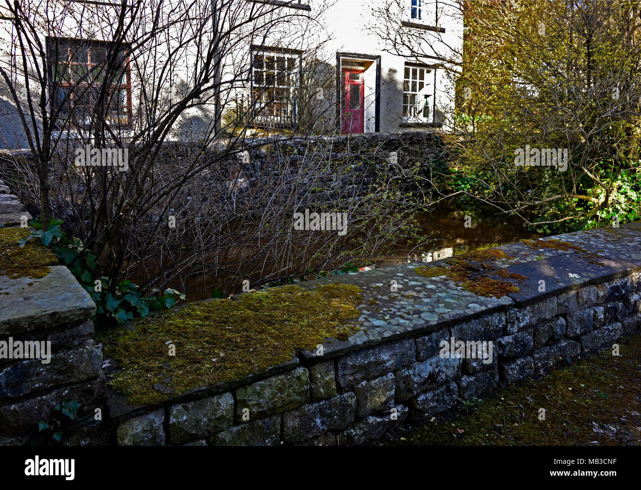 The Anchorite Well. Anchorite Fields, Kendal, Cumbria, England, United Kingdom, Europe. - Stock Image