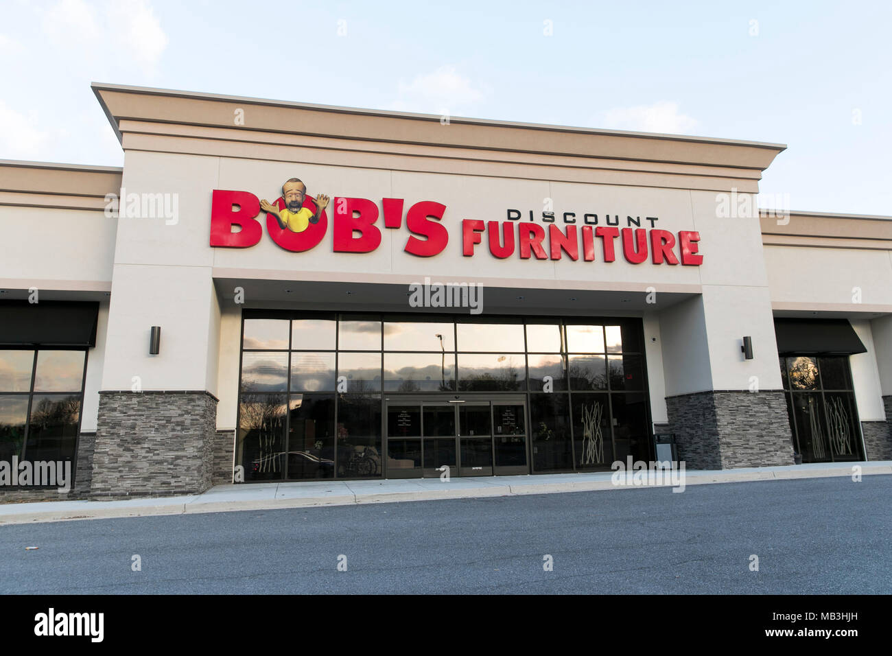 A Bobu0027s Discount Furniture Logo Seen On A Retail Store Front In Hagerstown,  Maryland On April 5, 2018.