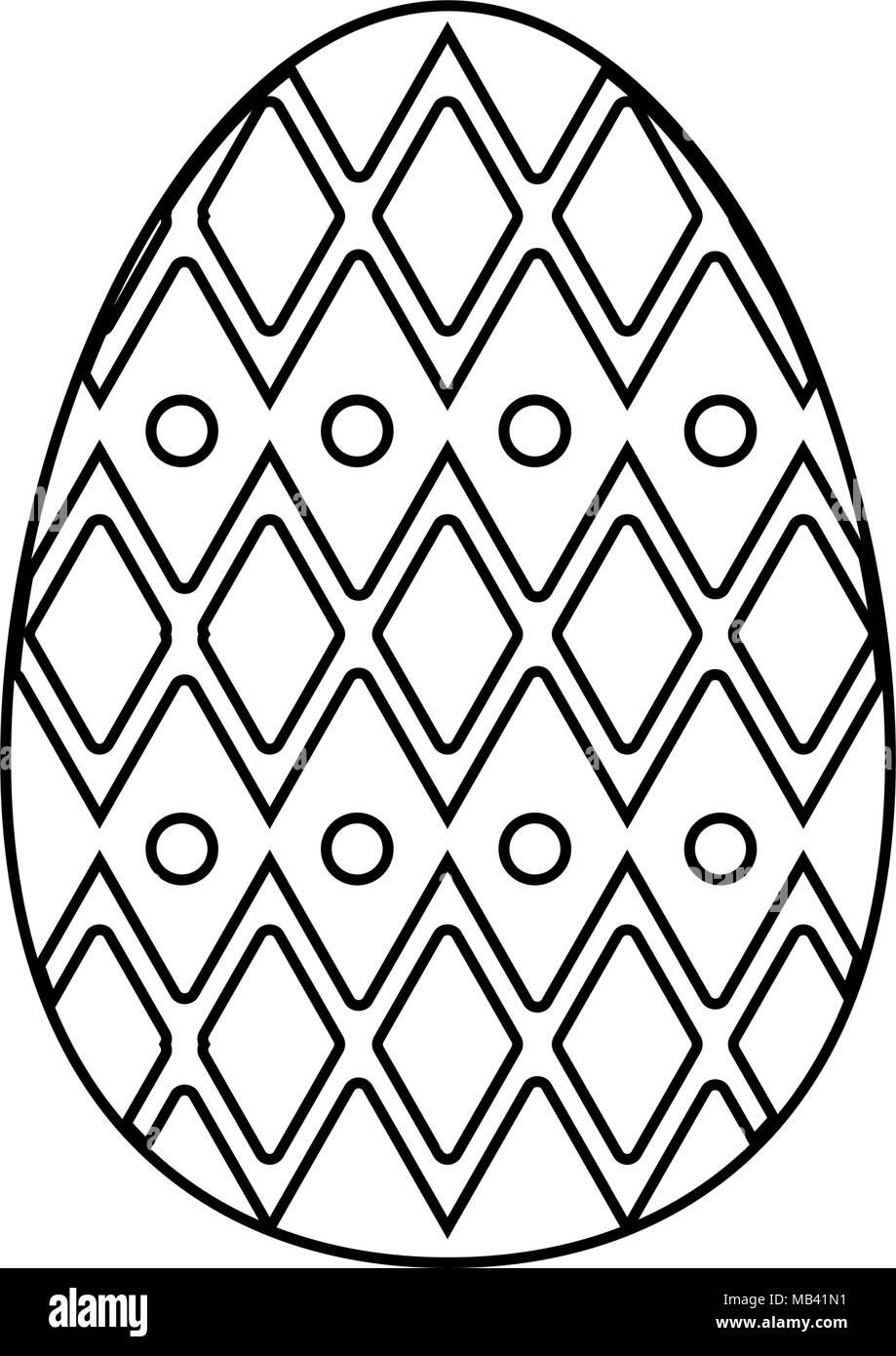 Faberge egg isolated - Stock Image