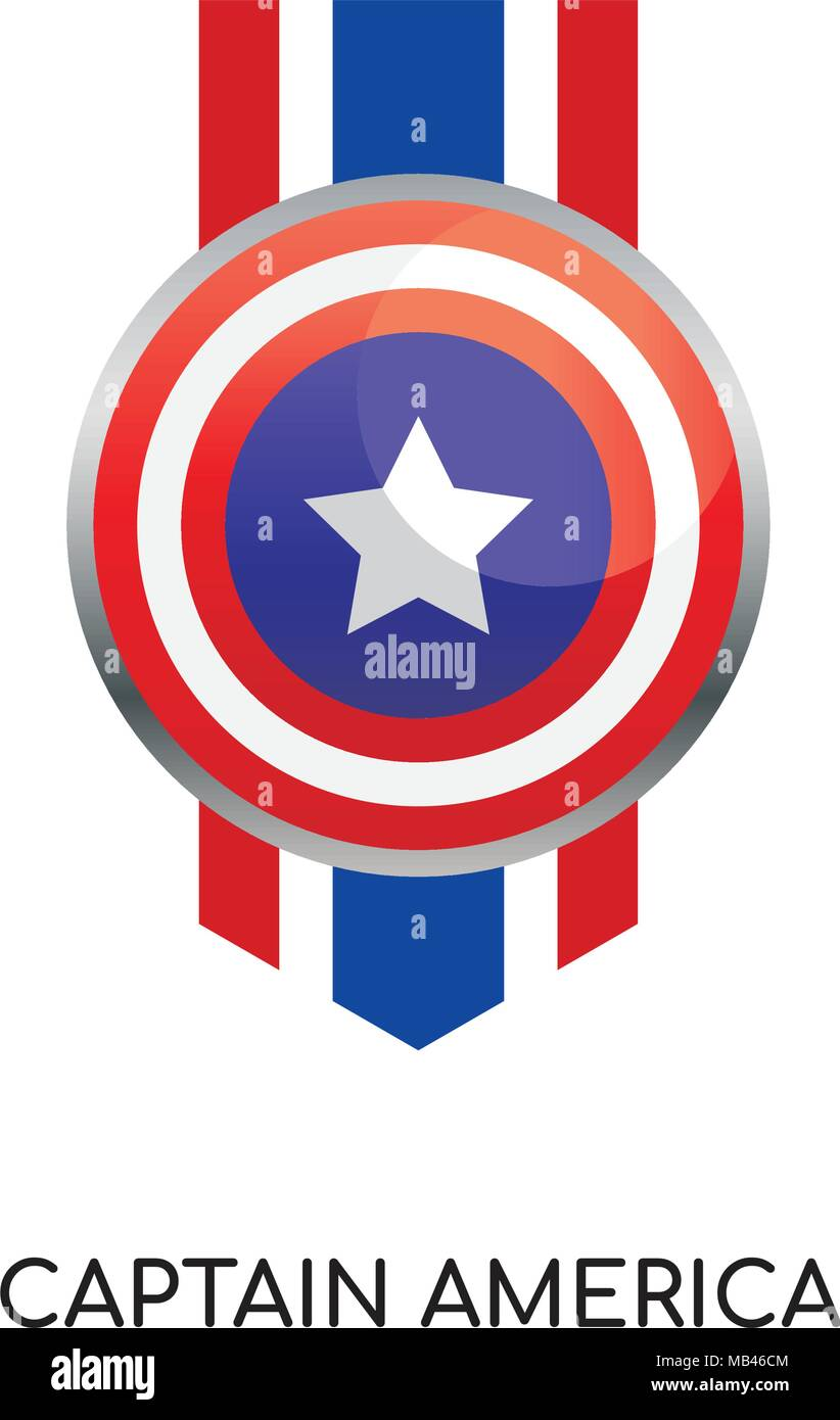 captain america high resolution stock photography and images alamy https www alamy com captain america logo isolated on white background for your web mobile and app design image178957764 html