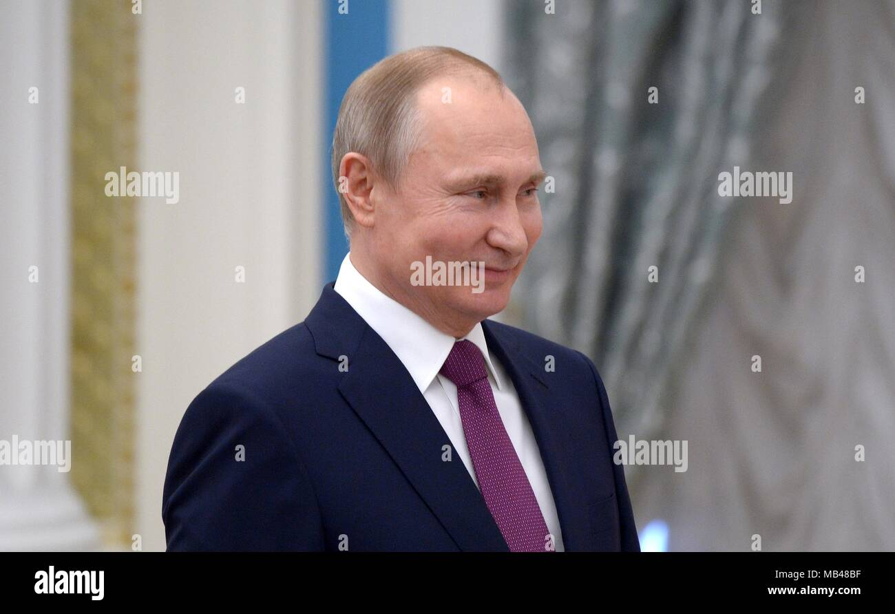 Russia April 6 Russian President Vladimir Putin High Resolution Stock Photography And Images Alamy