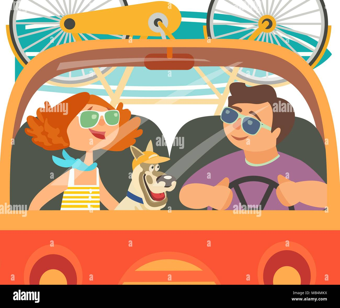 Time for adventure - Stock Vector