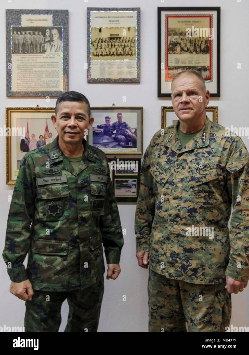 Commandant of the Marine Corps Gen  Robert B  Neller and