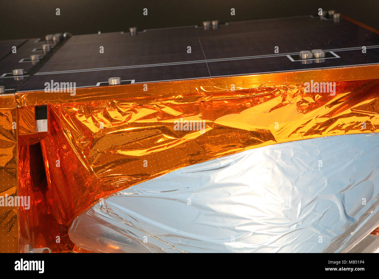 Artificial satellite detail - Stock Image