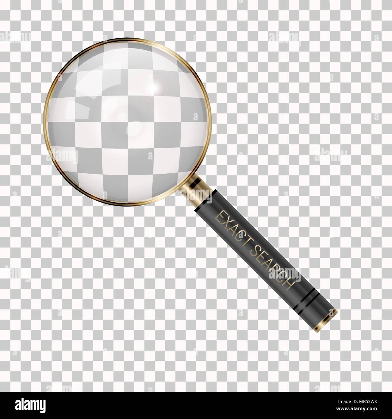 magnifying stock vector images alamy