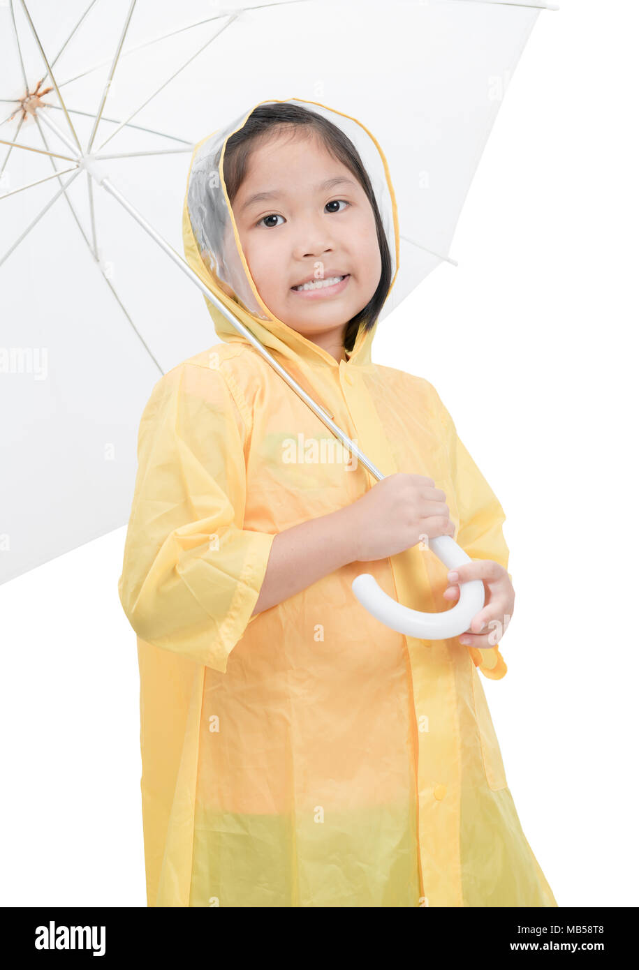 Young girls raincoats absolutely useless