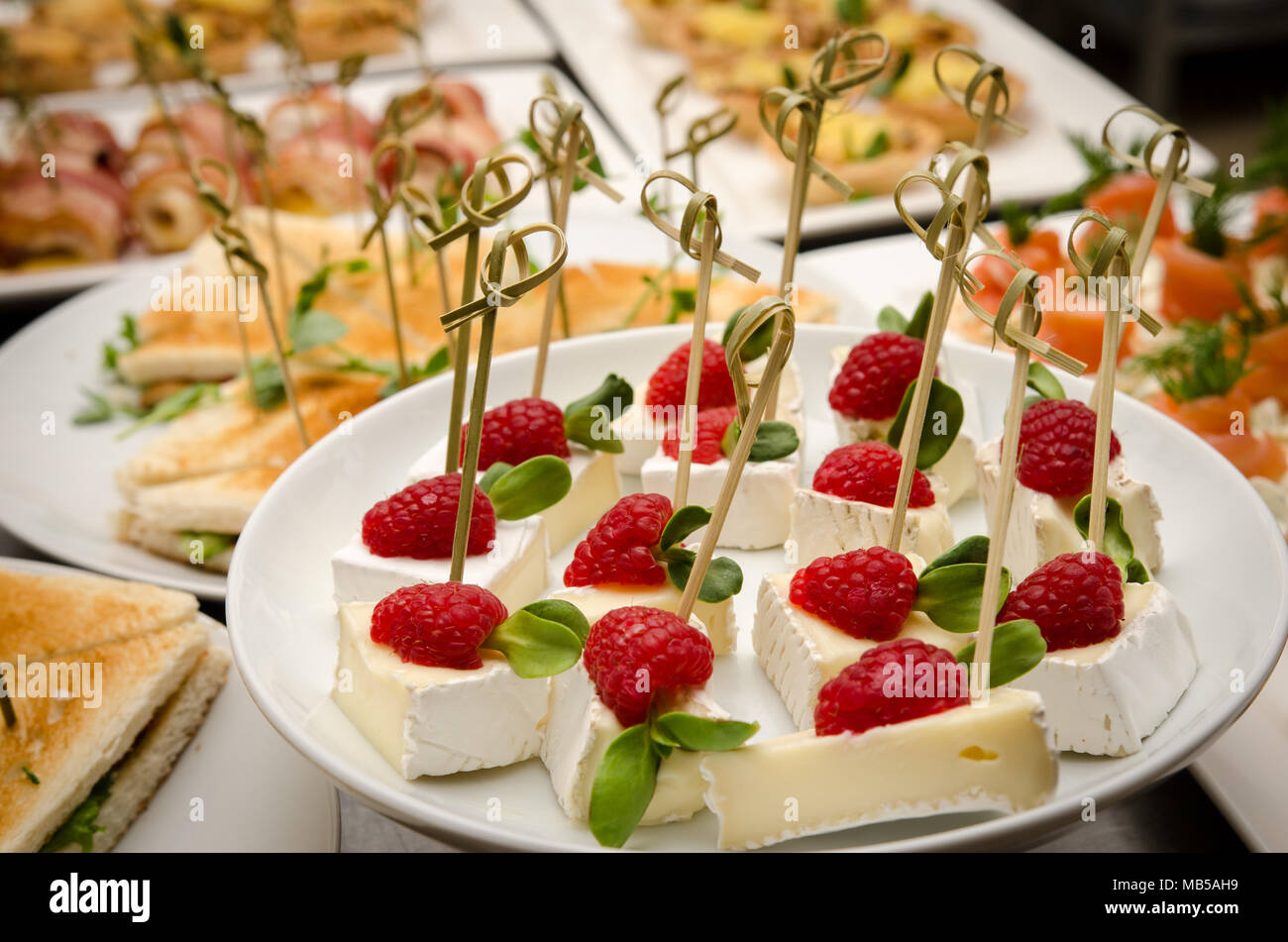 Miraculous Catering Buffet Table With A Delicious Food Stock Photo Download Free Architecture Designs Scobabritishbridgeorg