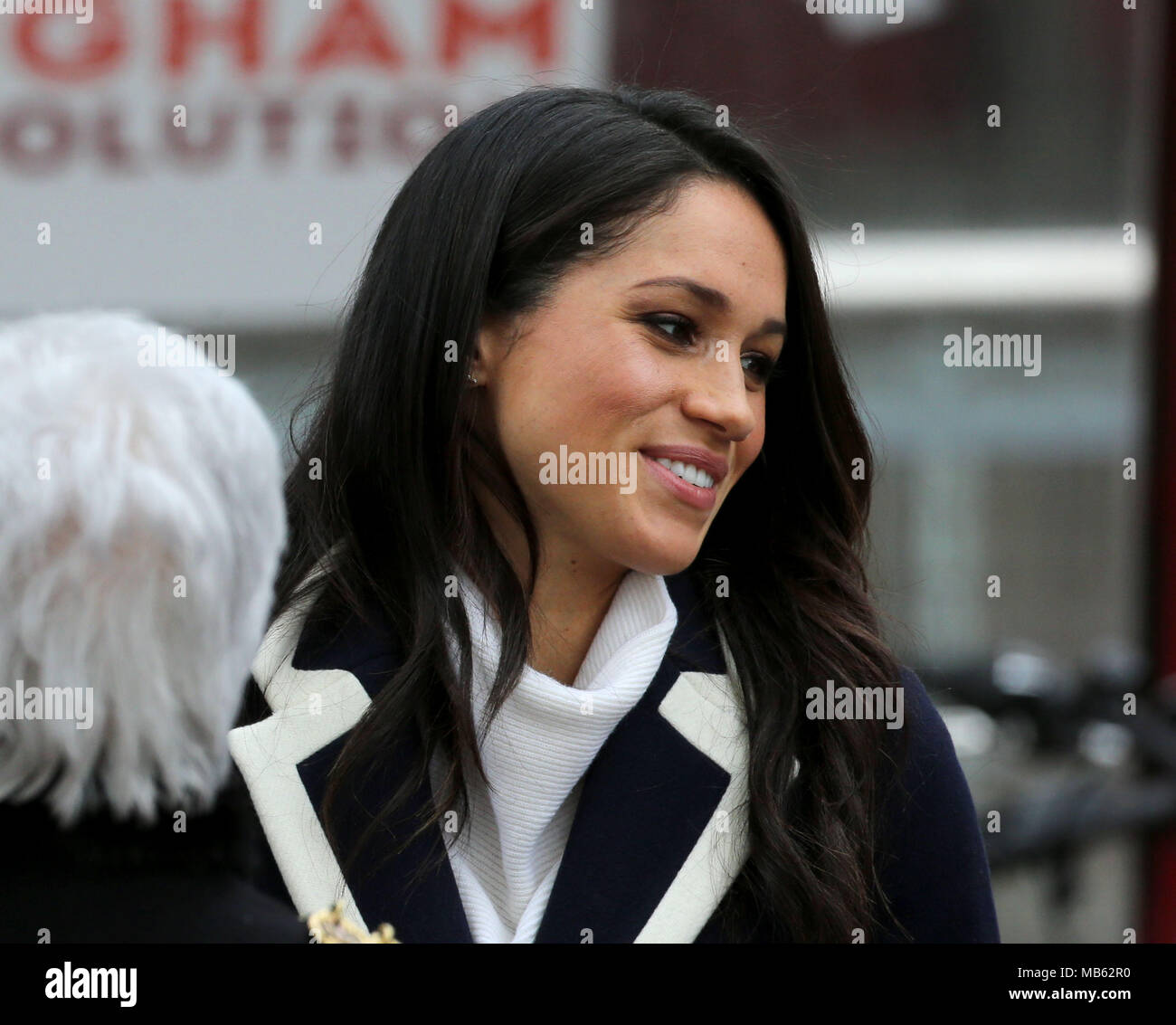 Meghan Markle Visit To Birmingham Stock Photos & Meghan