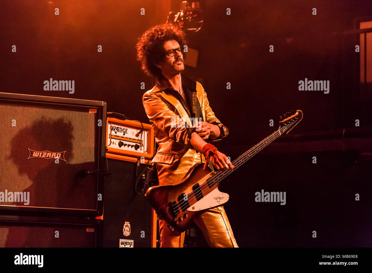 The Darkness kick off their Tour de Prance in Los Angeles, CA Stock Photo