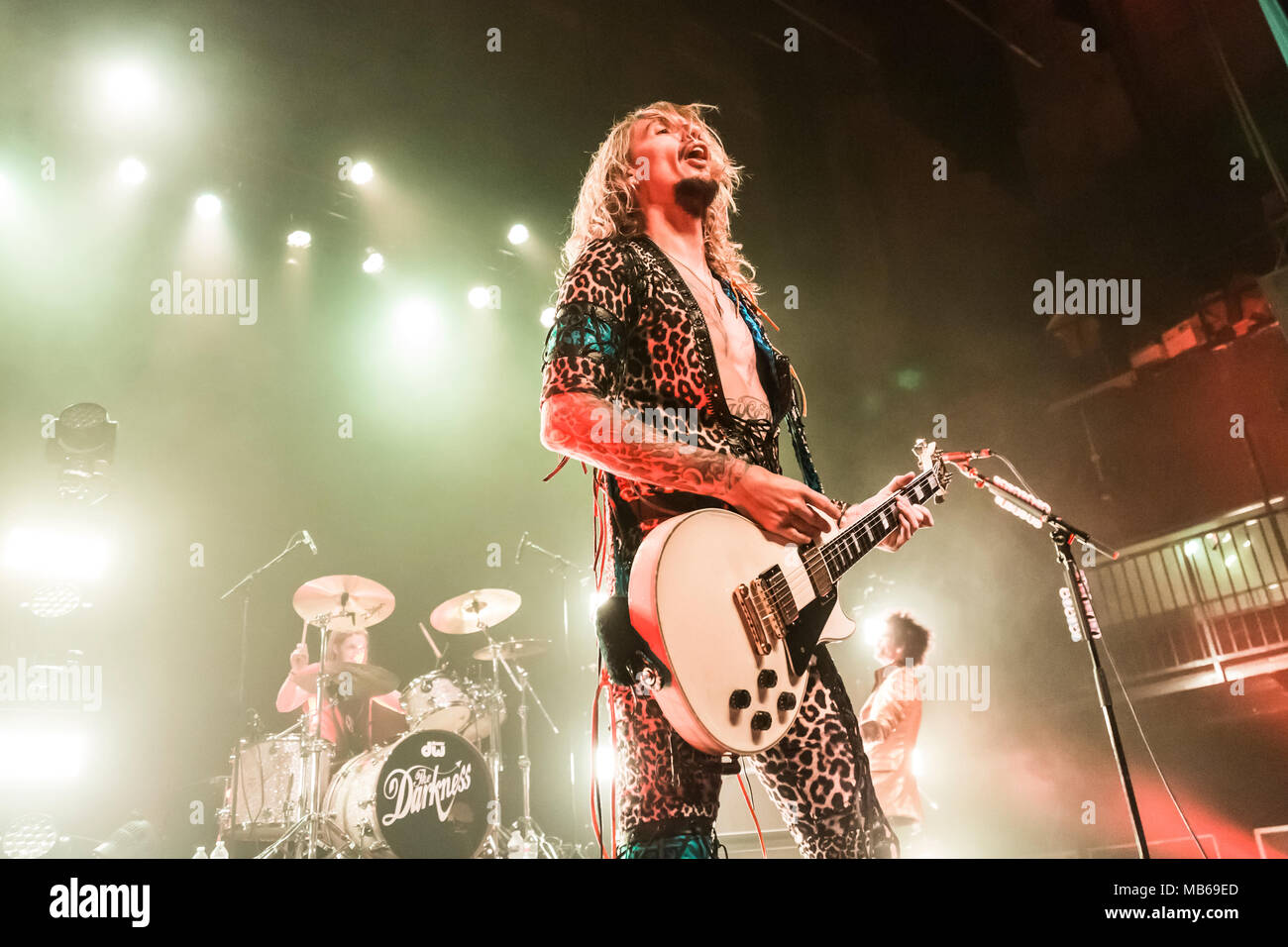 The Darkness kick off their Tour de Prance in Los Angeles, CA - Stock Image