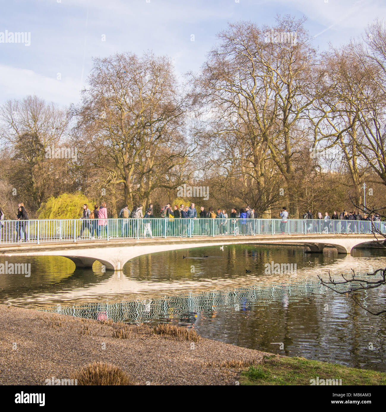 St James's Park, London, England Stock Photo