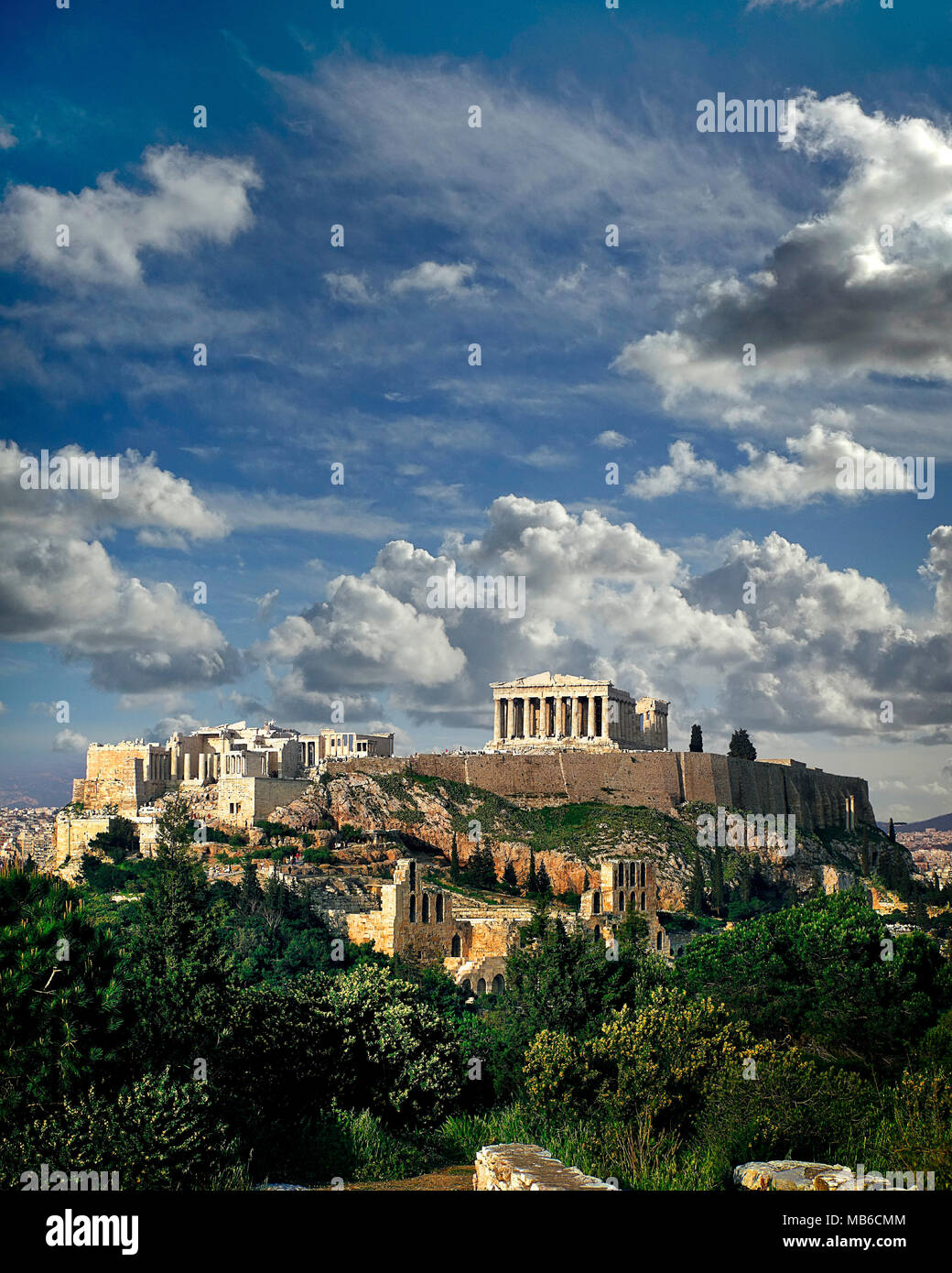 GR - ATHENS: The Acropolis - Stock Image