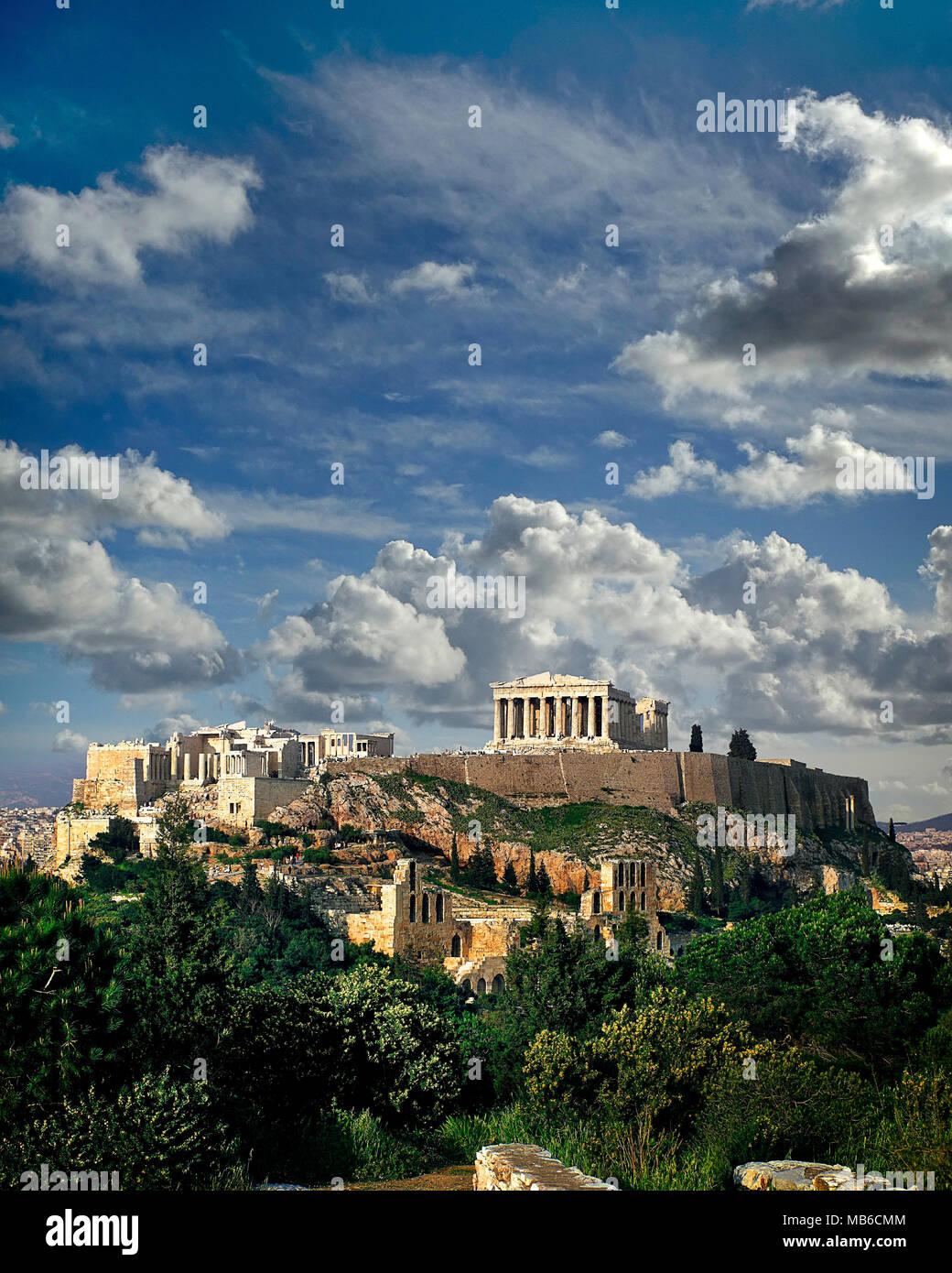 GR - ATHENS: The Acropolis - Stock Image
