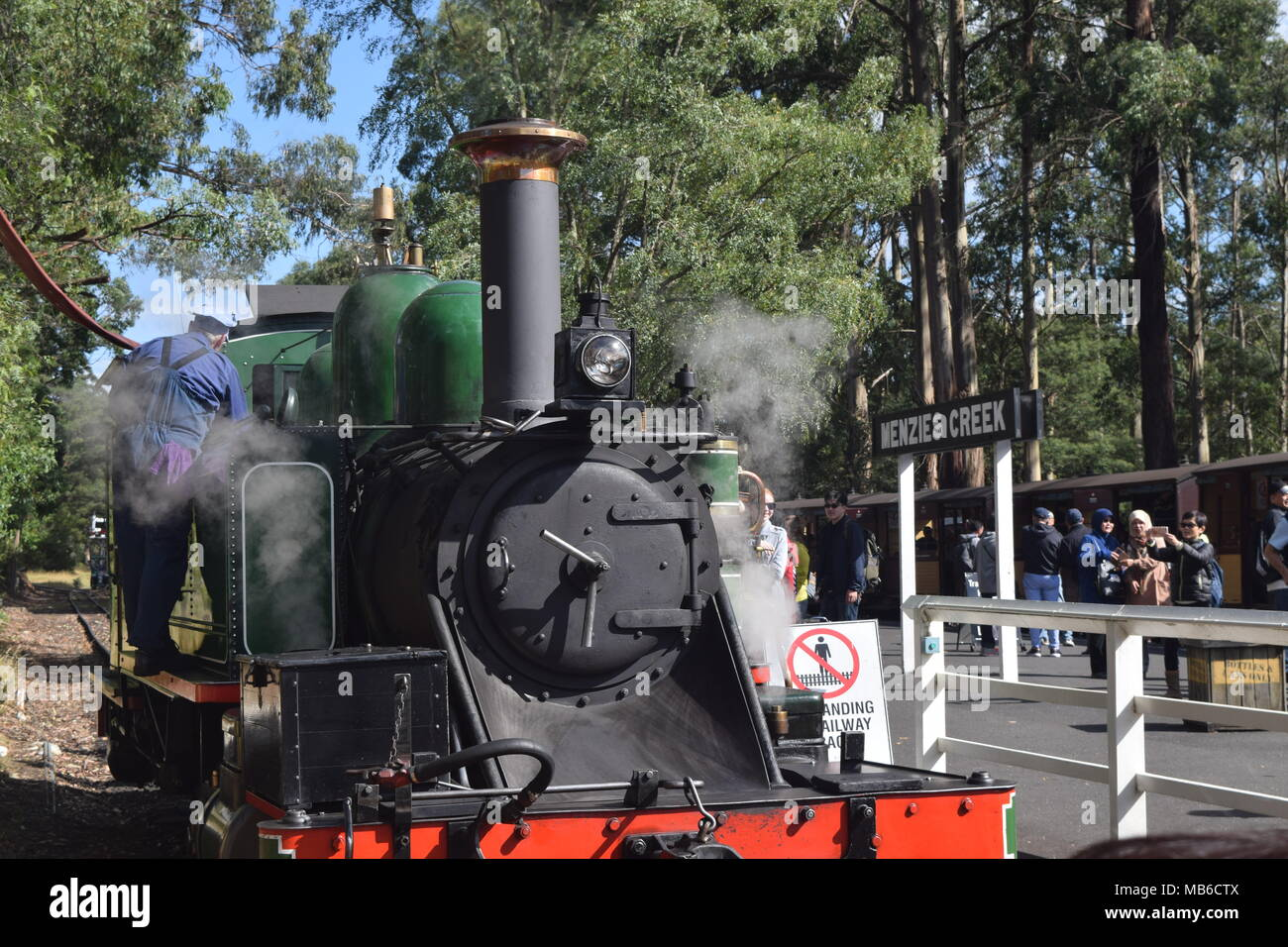 Puffing Billy Railway - Stock Image