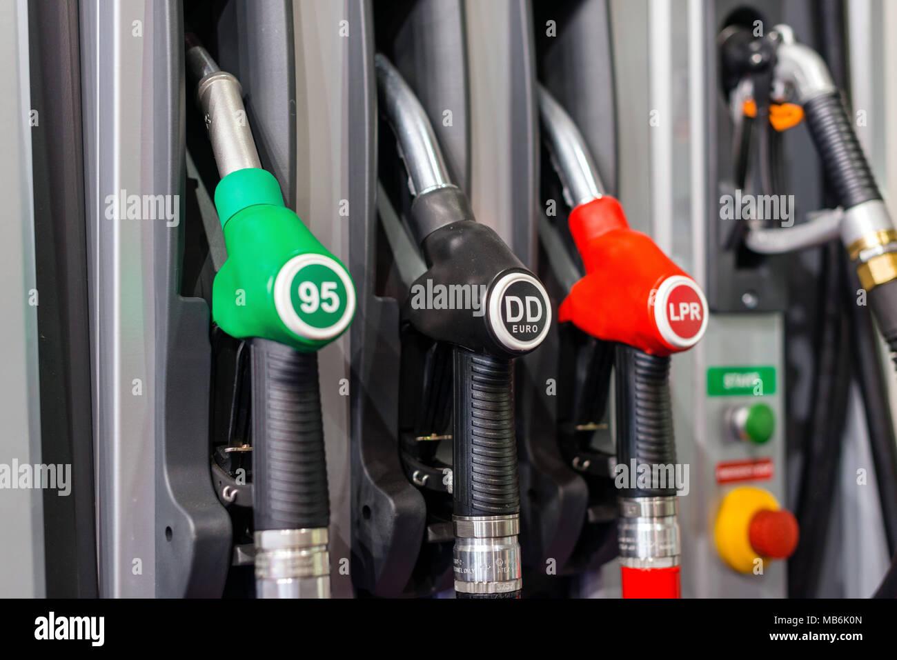Diesel Pump Gun Stock Photos & Diesel Pump Gun Stock Images