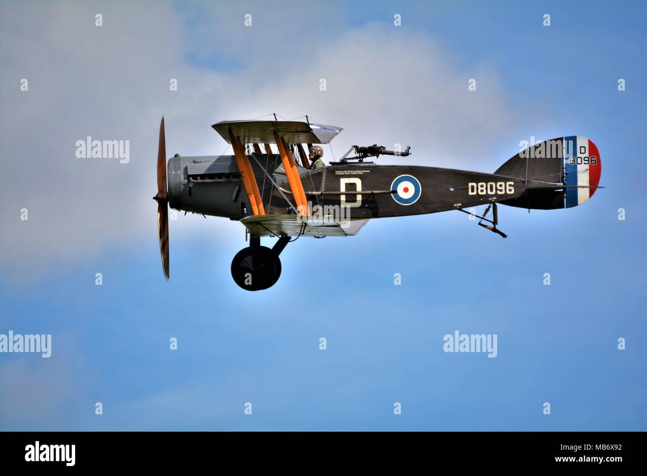Bristol fighter, world war 1 bi plane - Stock Image