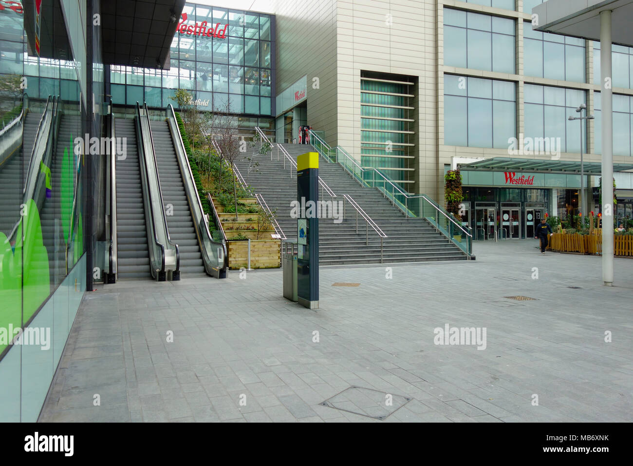 Westfield Stratford City, shopping centre, London, United Kingdom, UK Stock Photo