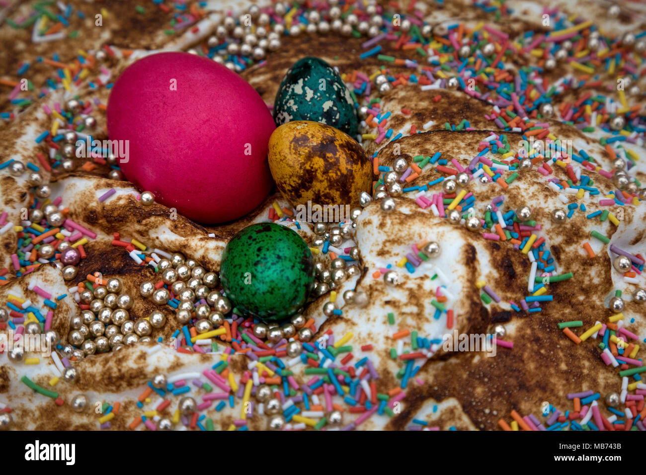 2018 moscow easter festival stock photos 2018 moscow easter moscow russia 7th april 2018 decoration of manezhnaya square during the easter negle Image collections